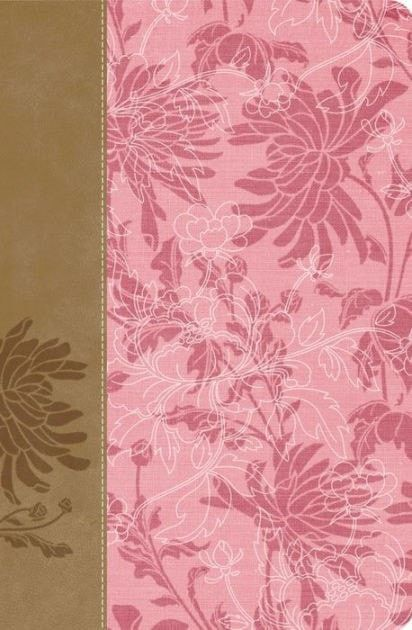 Spanish - RVR 1960 Womans Study Bible-Pink/Brown LeatherSoft (Biblia De Estudio Para La Mujer)