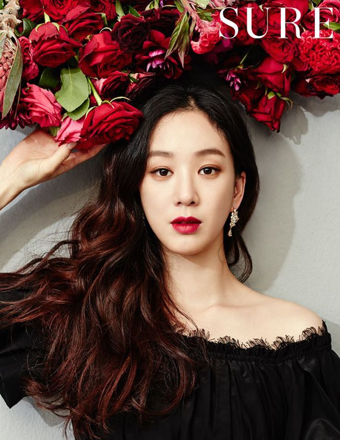 Jung Ryeo Won Is A Botanical Nymph For SURE's July 2014 Issue | Couch Kimchi