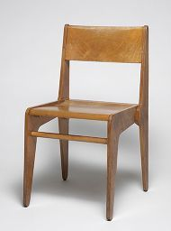 Object Number 1999.188.3 People Marcel Breuer, American (Pecs, Hungary 1902 - 1981 New York, N.Y., USA)  Title Dormitory Furniture for Rhoads Hall, Bryn Mawr College: Chair Classification Furniture Work Type chair Date 1938 Culture American