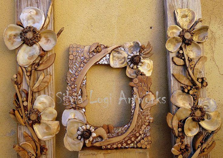 Wood frames by Silvia Logi