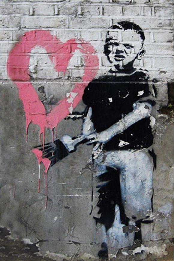 646 best Artist - Banksy images on Pinterest