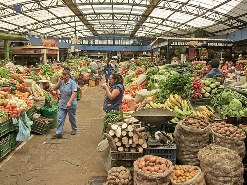 Fruit Market - Bogota, Colombia ✨ #TheCrazyCities #crazyBogota