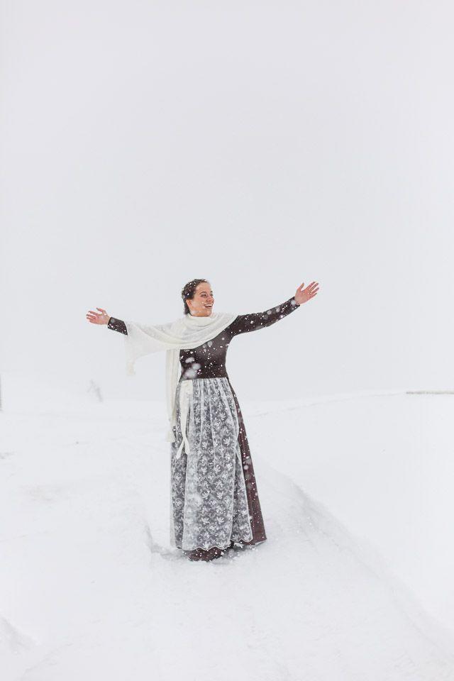 Berghochzeit im Schnee - Trachtenbibel