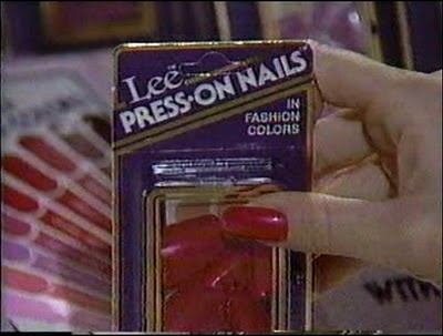 Lee Press on Nails. These things worked like crap! lol