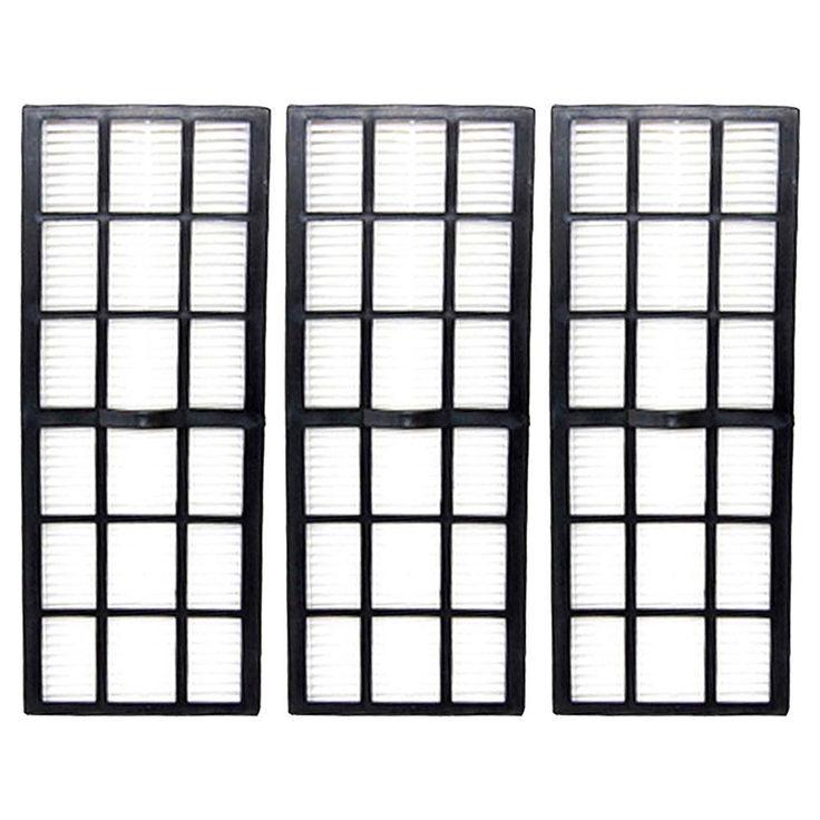 3 Pack Felji HF-7 HEPA Vacuum Filters for Eureka Upright Series 61850 61850A 61850B