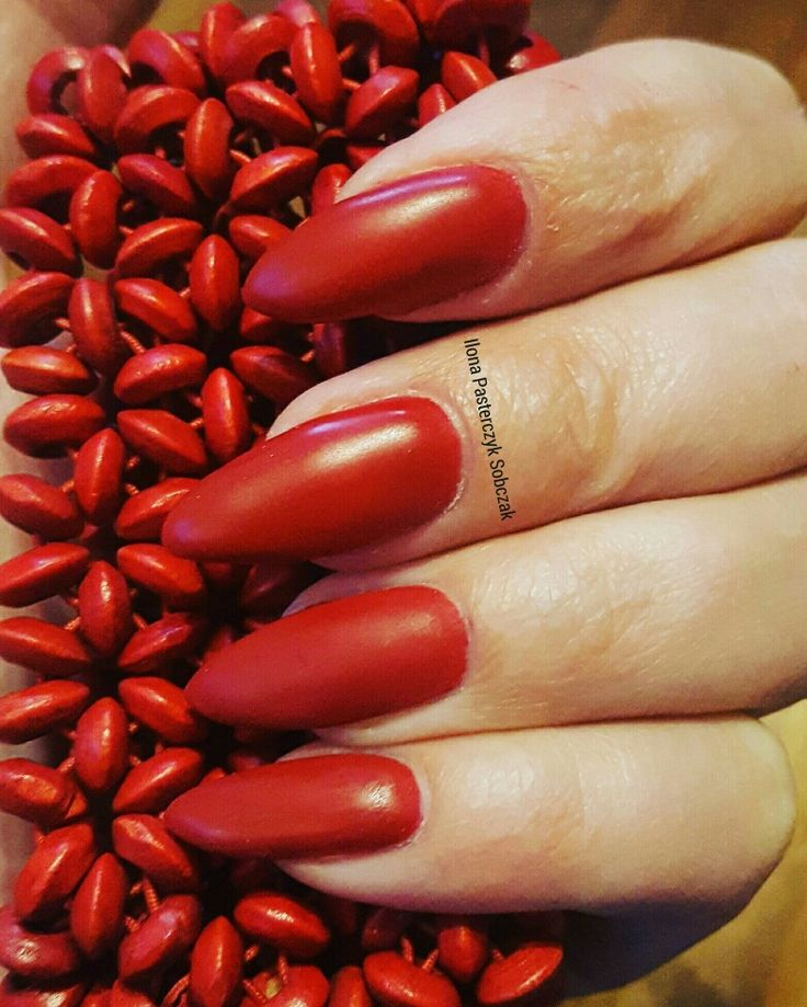 ❤ Red nails ❤