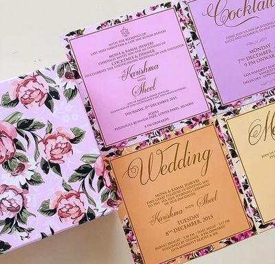 40 best design ideas images on Pinterest Wedding cards, Indian - invitation card kolkata