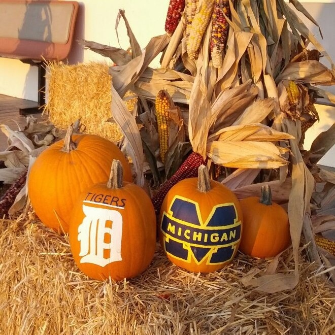 UMich pride in the fall