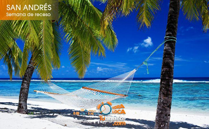 Aprovecha la semana de receso de Octubre, viaja a Santa Andrés con tu familia desde COP 1.505.000 --> Entra a la promoción http://goo.gl/R8nWdt