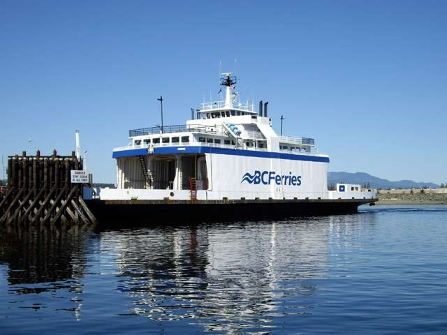 Photo of the BC Ferries M.V. Powell River Queen