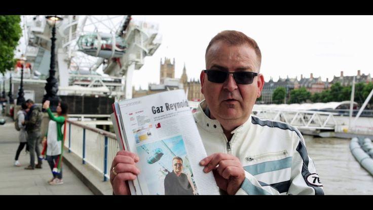 GAZ REYNOLDS TV INTERVIEW ON BMV LONDON (SHOT IN LONDON)
