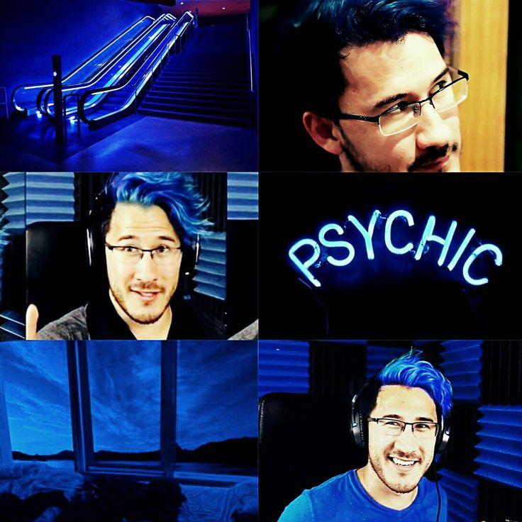 Markiplier blue aesthetic