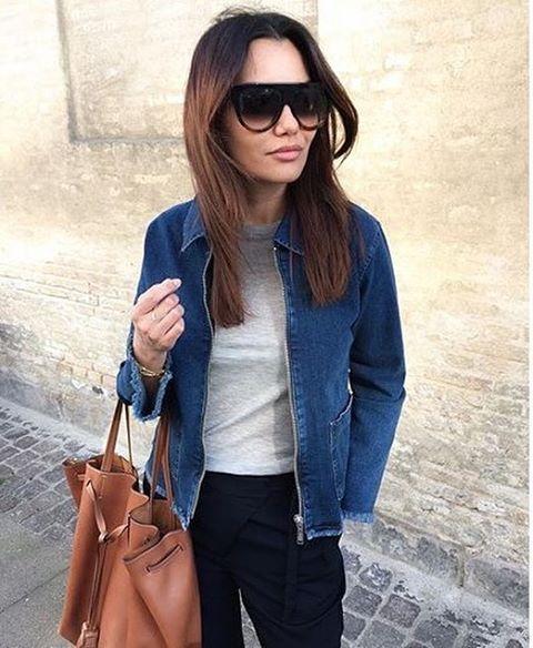 @fundachristophersen looking sharp in phlox denim jacket 💙 #stormandmariexmariejedig #phlox