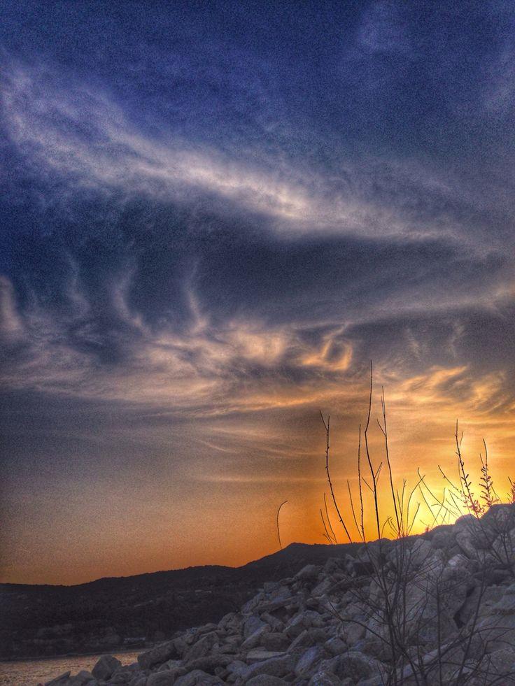 Sunset,Lucy,Kavala,Greece