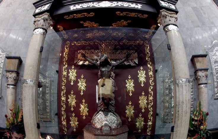 Camarín del Señor de los Milagros en Buga Valle - Colombia