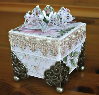 Bridget Larsen: Wedding Ring or Favour Box - Couture Creations