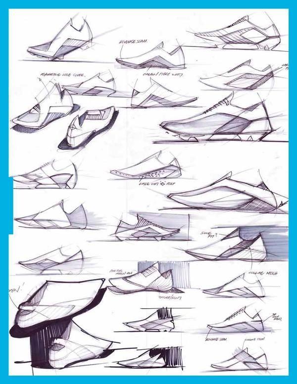 Sketch Portfolio by The Directive Collective , via Behance