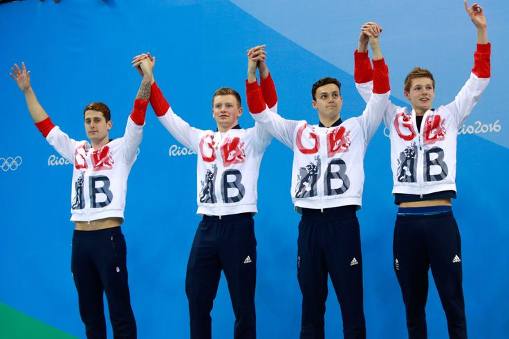 James Guy, Adam Peaty, Duncan Scott, and Chris Walker-Hebborn: Silver in the…