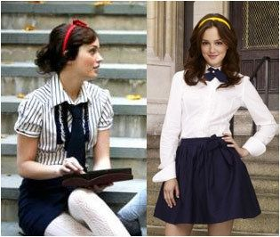 You cannot have a board of preppy school clothes without Blair Waldorf on it. Blair is a must.-Said one pinner.   LOL