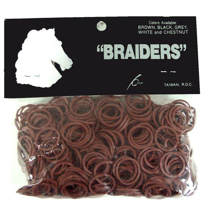 Braid Bands - Brown