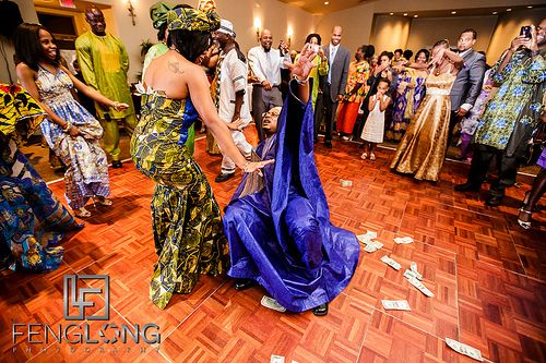 Liberian traditional wedding dresses