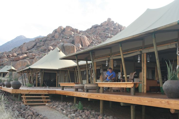 Boulder Camp at Wolwedans (Namibia)  www.wolwedans.com/lodges-camps/boulders-camp/