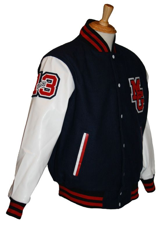 Get the same look as Macquarie Grammar in your custom decorated Team Varsity Jacket