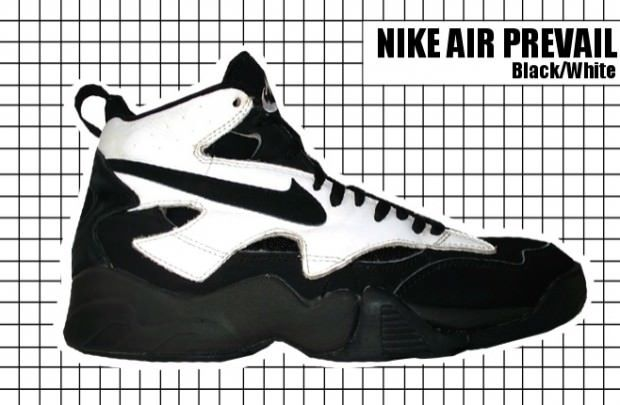 Nike Air Prevail Black White  9852d26c3