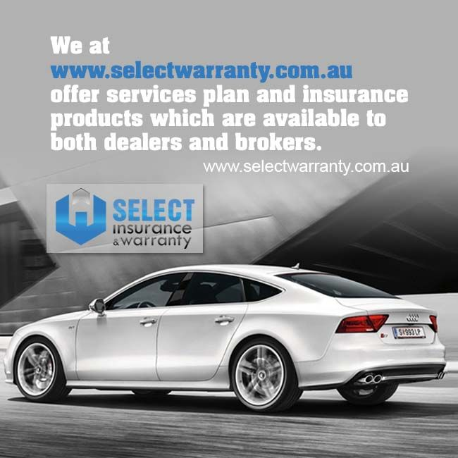We at www.selectwarranty.com.au offer services plan and insurance products which are available to both dealers and brokers.