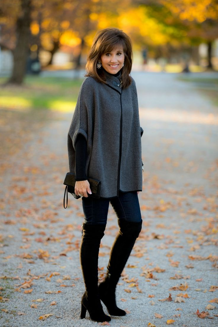 best 25  poncho outfit ideas on pinterest