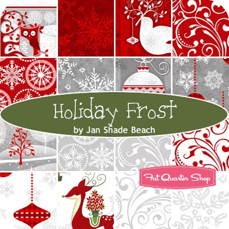 Holiday Frost Yardage Jan Shade Beach for Henry Glass Fabrics - Fat Quarter Shop.   Expected mai 2013