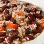 Recipe: Slow Cooker Red Beans and Rice or Quinoa ~ Substitute the chicken broth with vegetable broth & you have a vegetarian dish!