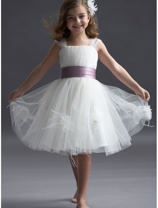 Flower Dresses Uk Ivory Children Bridesmaid Missydress For S 600x789