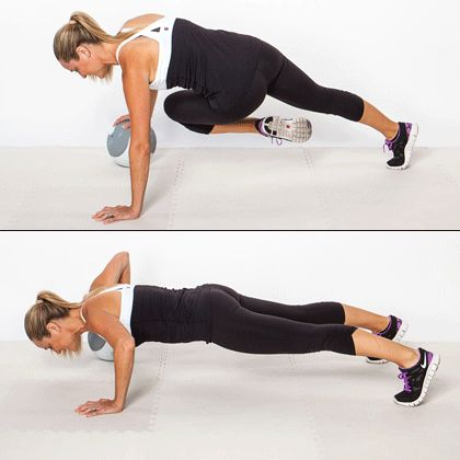 This very advanced pushup variation works the core like you wouldn't believe!