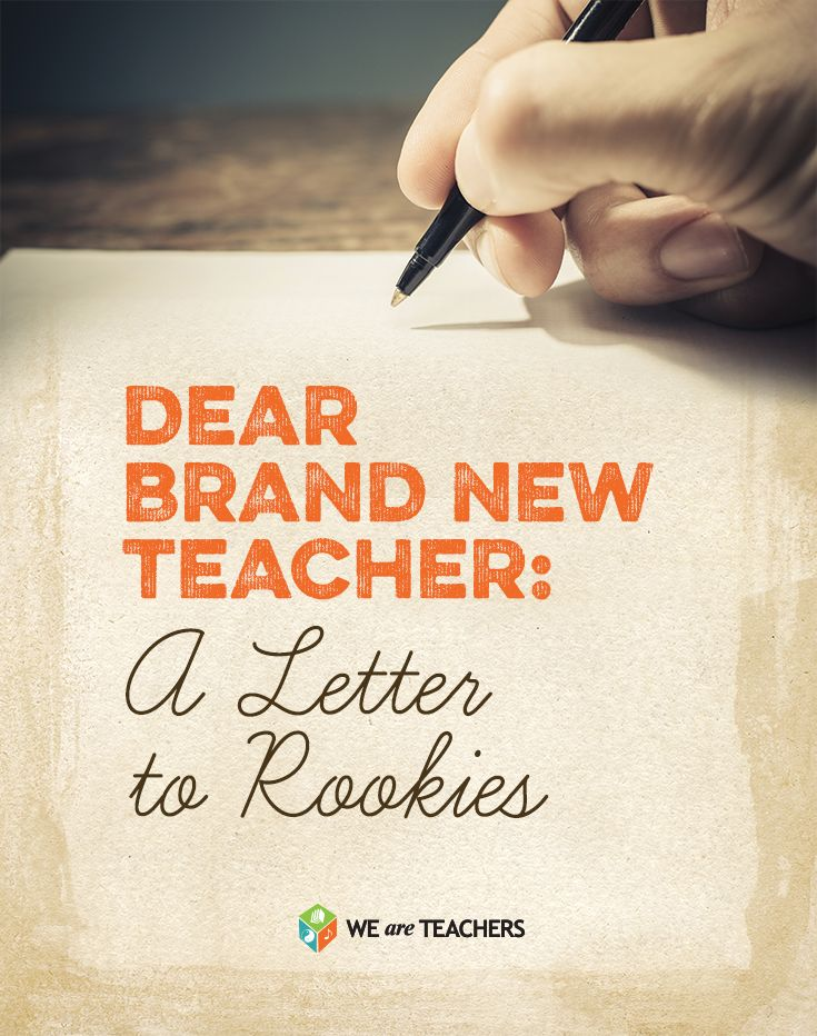A letter to new teachers 407 best