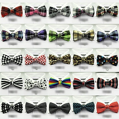 gravata borboleta padrão unissex