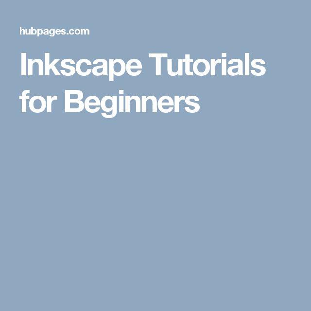 Inkscape Tutorials for Beginners