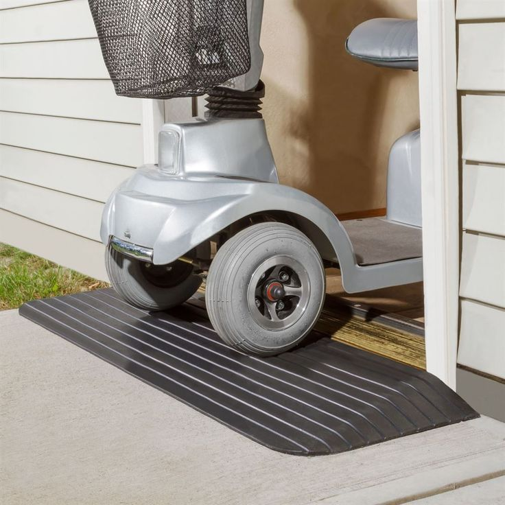 Silver Spring Rubber Solid Threshold Ramp Wheelchair