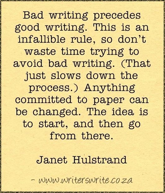 Quotable - Janet Hulstrand - Writers Write Creative Blog