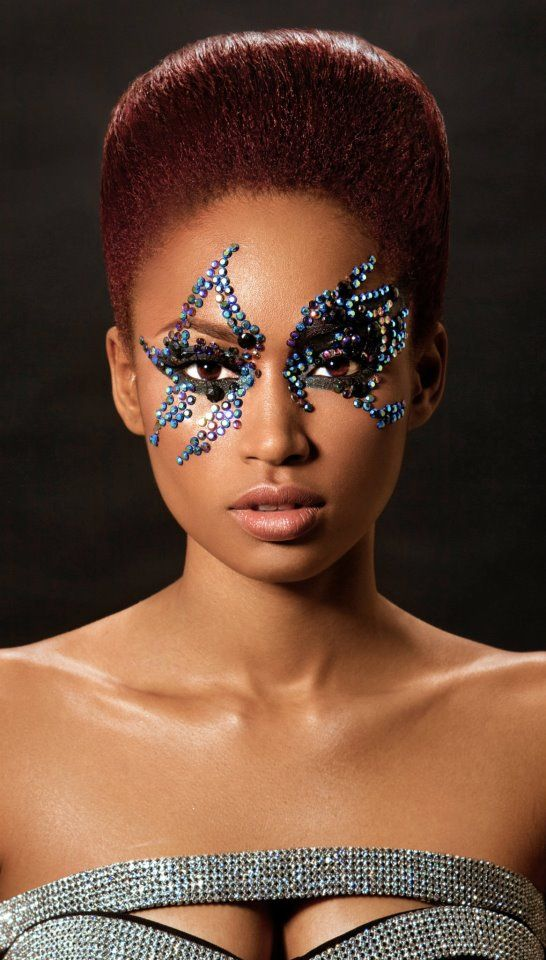 17 Best images about Carnival make-up on Pinterest ...