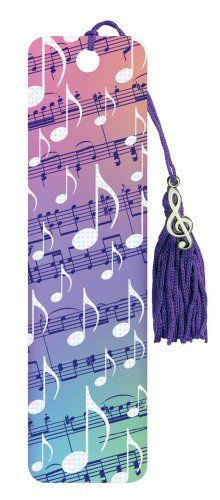 Beaded Bookmarks - Foil Music by Music Treasures Co.. $3.99. Laminated bookmark with unique tiny clef charm connected to the nylon tassel. 1.56 x .02 x 5.87. Save 20%!