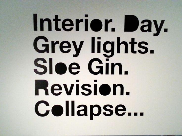 "Liam Gillick, ""Interior. Day. Grey Light"", 2015"