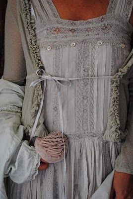 Layers of lace...so pretty.