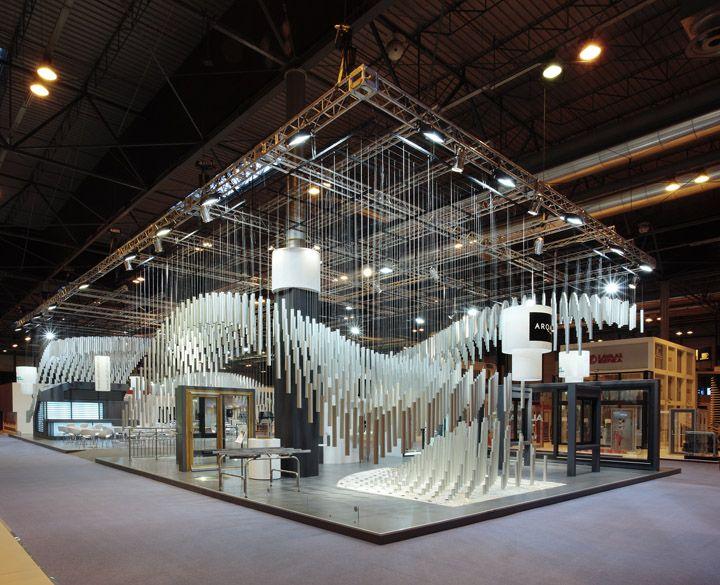 Alumafel pavilon by Pedro García Martinez Madrid 02 gorgeous booth, tradeshow design
