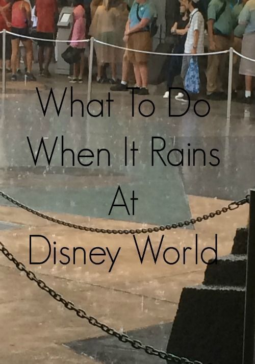 What To Do When It Rains At Disney World - The Life Of Spicers
