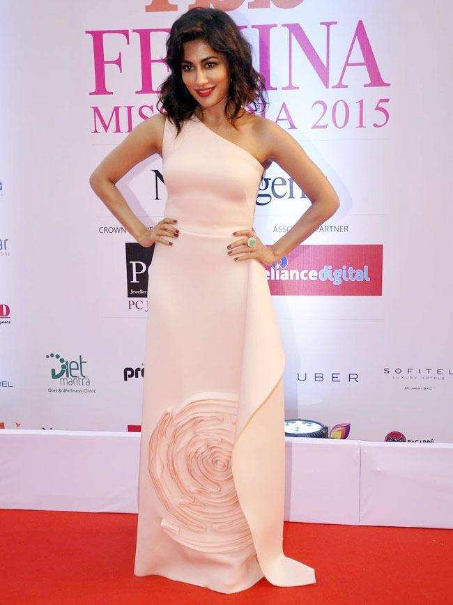Chitrangda Singh at the FBB Femina Miss India 2015 pageant. #Bollywood #Fashion #Style #Beauty