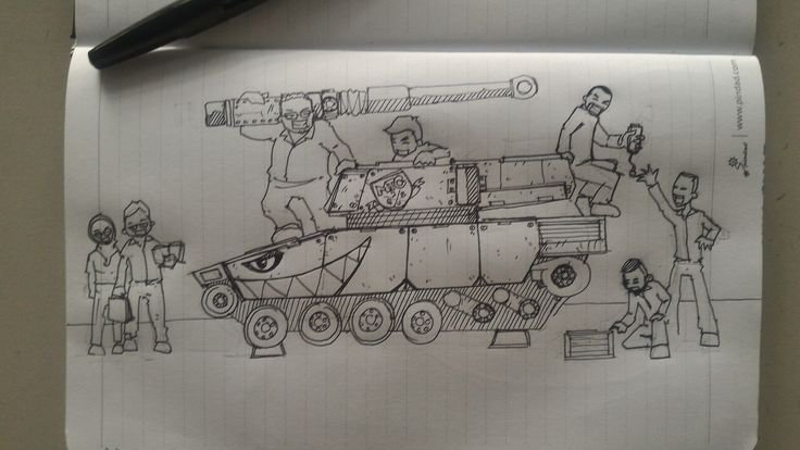 My happy tank crews