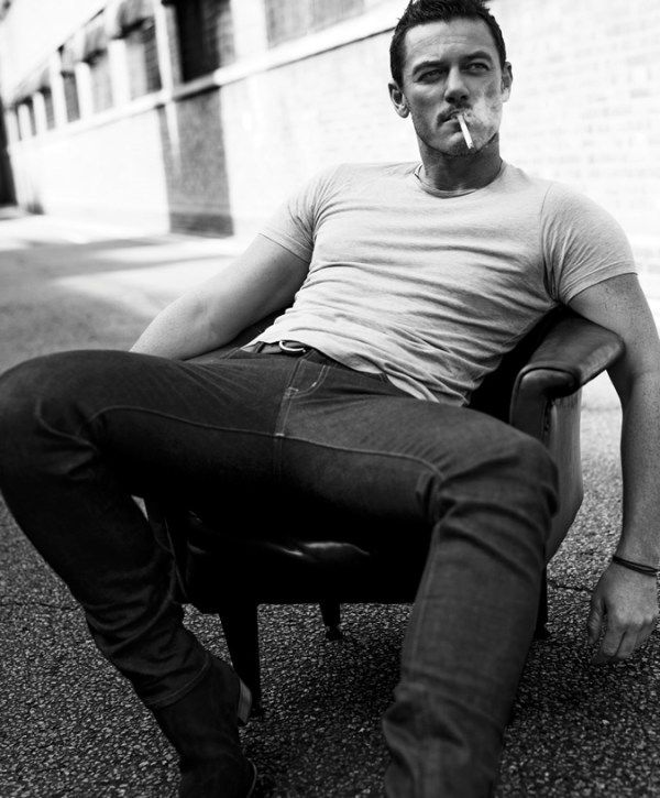 Luke Evans on ESSENTIAL HOMME October/NovemberEssential Homme Magazine: