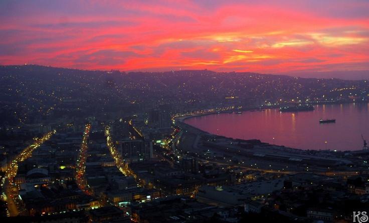 valpo sunset