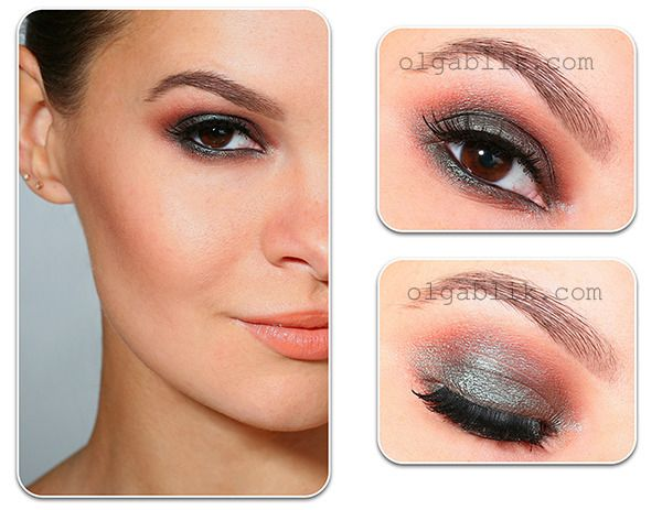 Pretty! This looks like it could be done with the Wet n Wild Comfort Zone palette. Use right side definer shade on the lid, left side eyelid shade in the crease, just a little of the left side definer if you want more depth than shown.